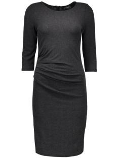 vinimas detail dress-noos 14036428 vila jurk black/melange