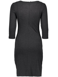 vinimas detail dress-noos 14036428 vila jurk black/melange