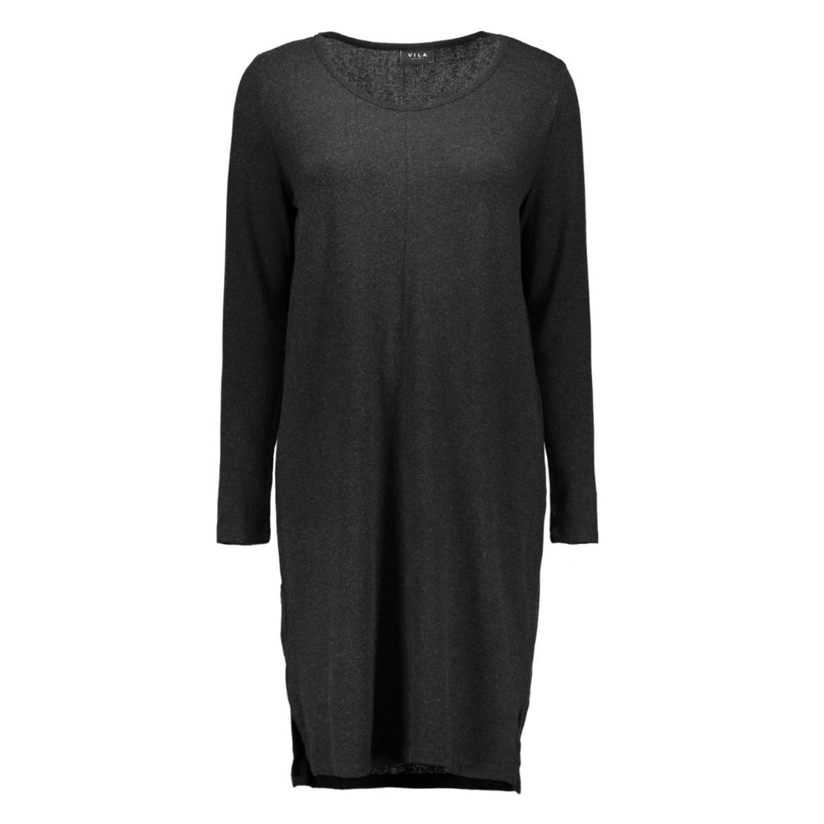 vinimas l/s dress-noos 14036230 vila jurk black/ melange