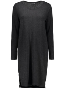 Vila Jurken VINIMAS L/S DRESS-NOOS 14036230 Black/ Melange