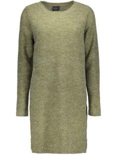 VIRIVA RIB DRESS-NOOS 14036027 Ivy Green