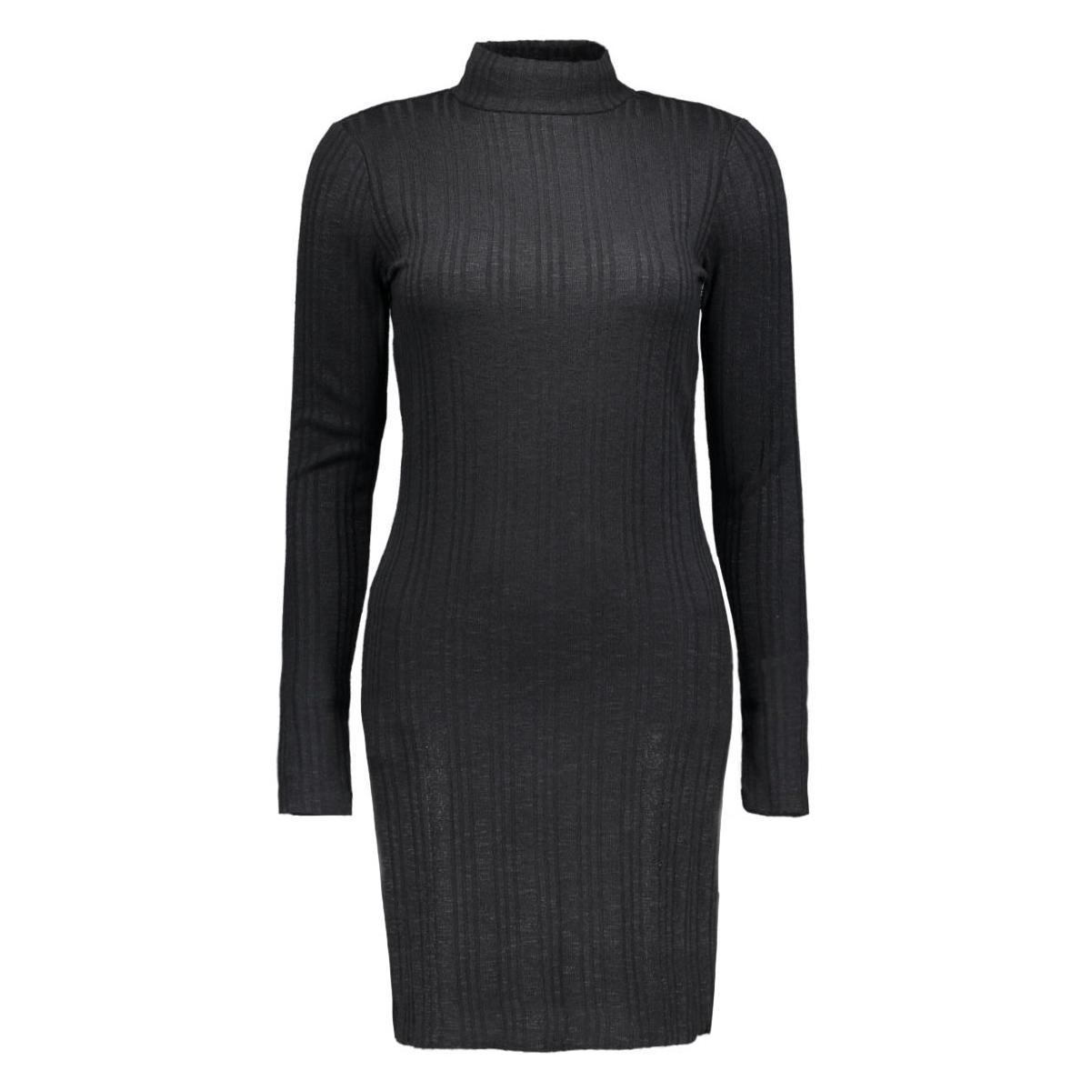 vinalas turtleneck dress 14036667 vila jurk black
