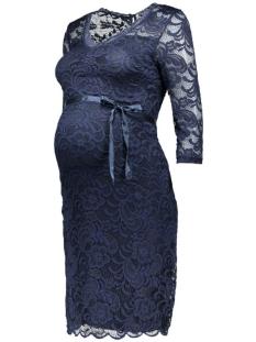 mlnewmivana 3/4 jersey dress 20006375 mama-licious positie jurk navy blazer