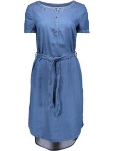 Object Jurken OBJNOA S/S DRESS  23024268 Medium Blue Denim