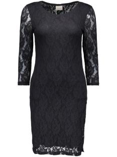 vmlilly lace 3/4 short dress noos 10157331 vero moda jurk black