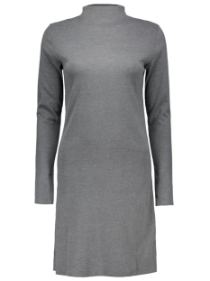 Vila Jurk VIKLATRA L/S DRESS 14037128 Medium Grey Melange