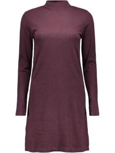 viklatra l/s dress 14037128 vila jurk tawny port