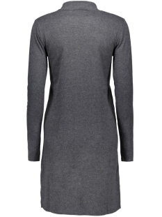 viklatra l/s dress 14037128 vila jurk black