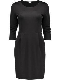 Jacqueline de Yong Jurk JDYLOWE 3/4 DRESS WVN 15117444 Black