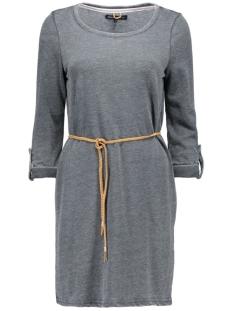onlsienna monica 3/4 dress swt 15128123 only jurk medium grey melange