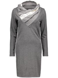 Object Jurken OBJTAMMY DRESS 23021471 Medium grey melange