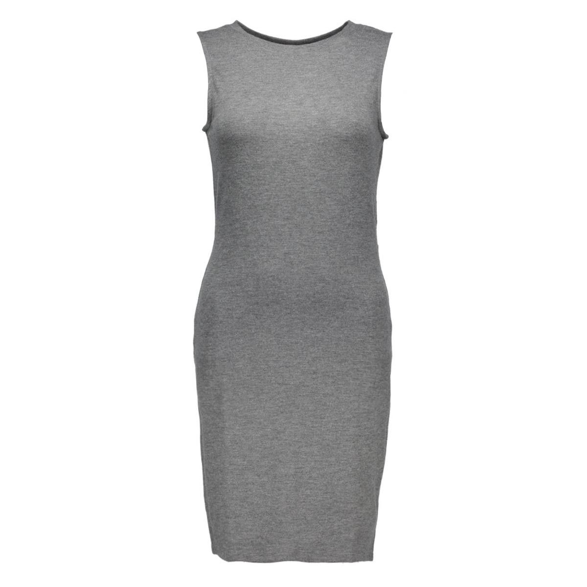 vimelani dress 14037495 vila jurk dark grey melange