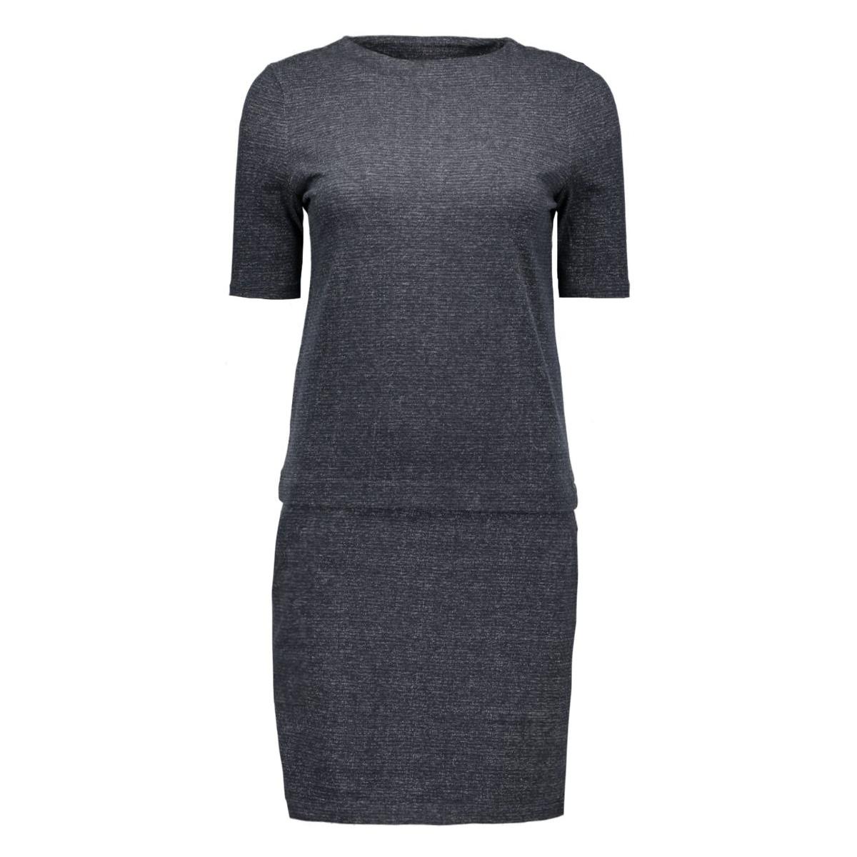 objdobbi 3/4 dress 23022814 object jurk anthracite