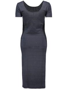 onlcharlene 2/4 calf dress jrs 15123686 only jurk night sky/black