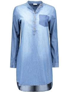 Jacqueline de Yong Jurk JDYMOVE L/S DENIM POCKET DRESS WVN 15129968 Medium Blue Denim