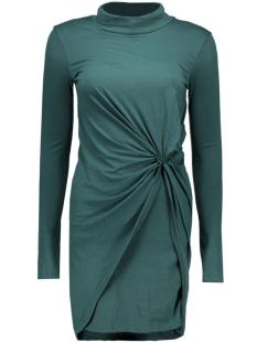 Noisy may Jurk NMWALSH L/S HIGH NECK MINI DRAPE DRESS 10162929 Ponderosa Pine