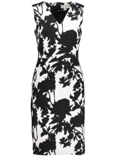 InWear Jurk Ziva Dress 30101781 11071 Monocrome Flower