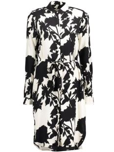InWear Jurk Gaia Shirt Dress 30101822 11071 Monocrome Flower