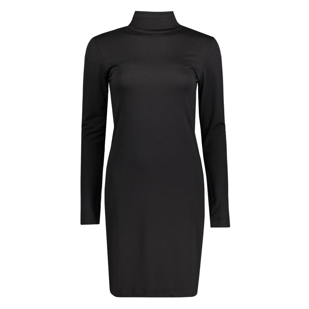 pcmila ls turtleneck dress 17071292 pieces jurk black