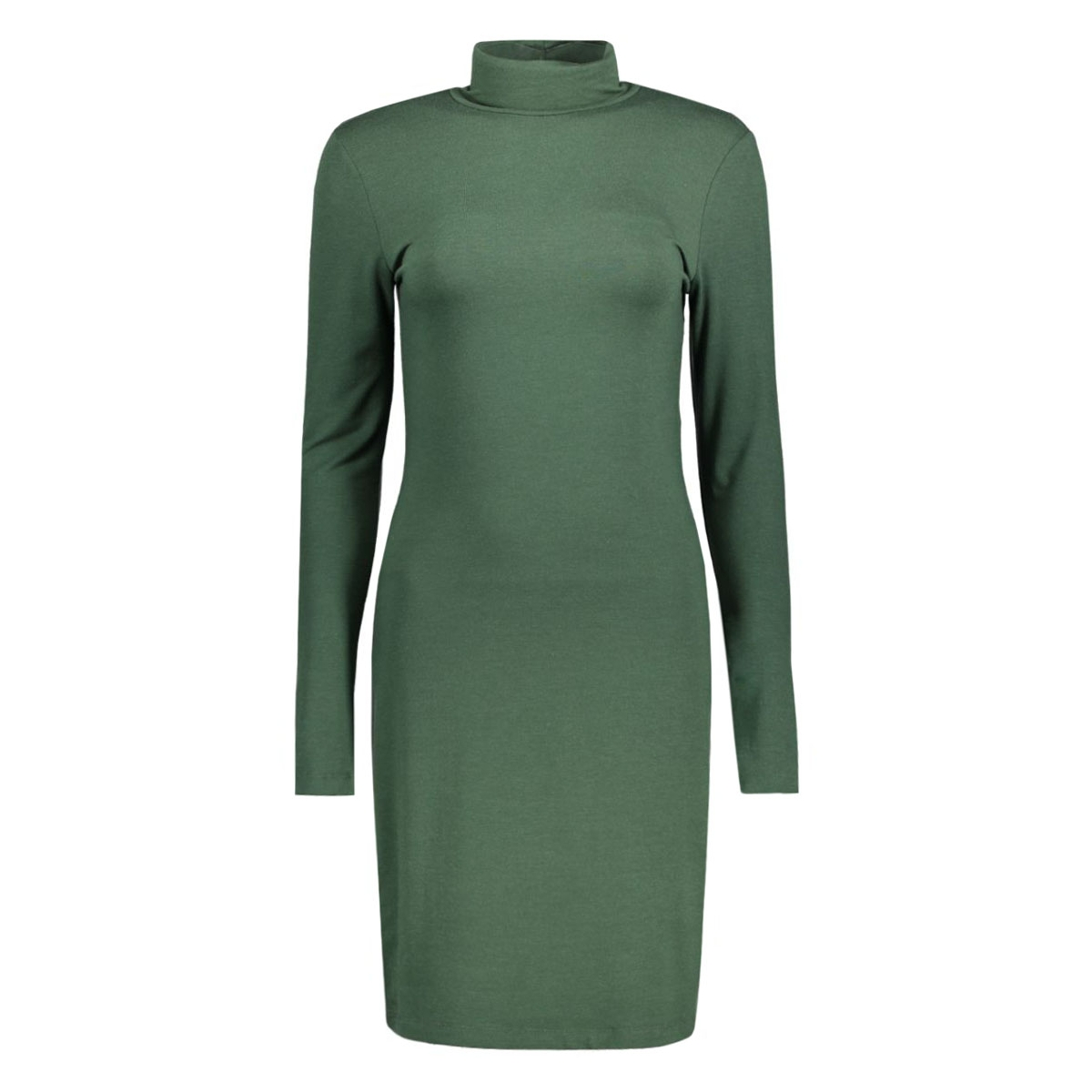 pcmila ls turtleneck dress 17071292 pieces jurk sycamore
