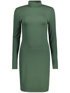 pcmila ls turtleneck dress 17071292 pieces jurk sycamore