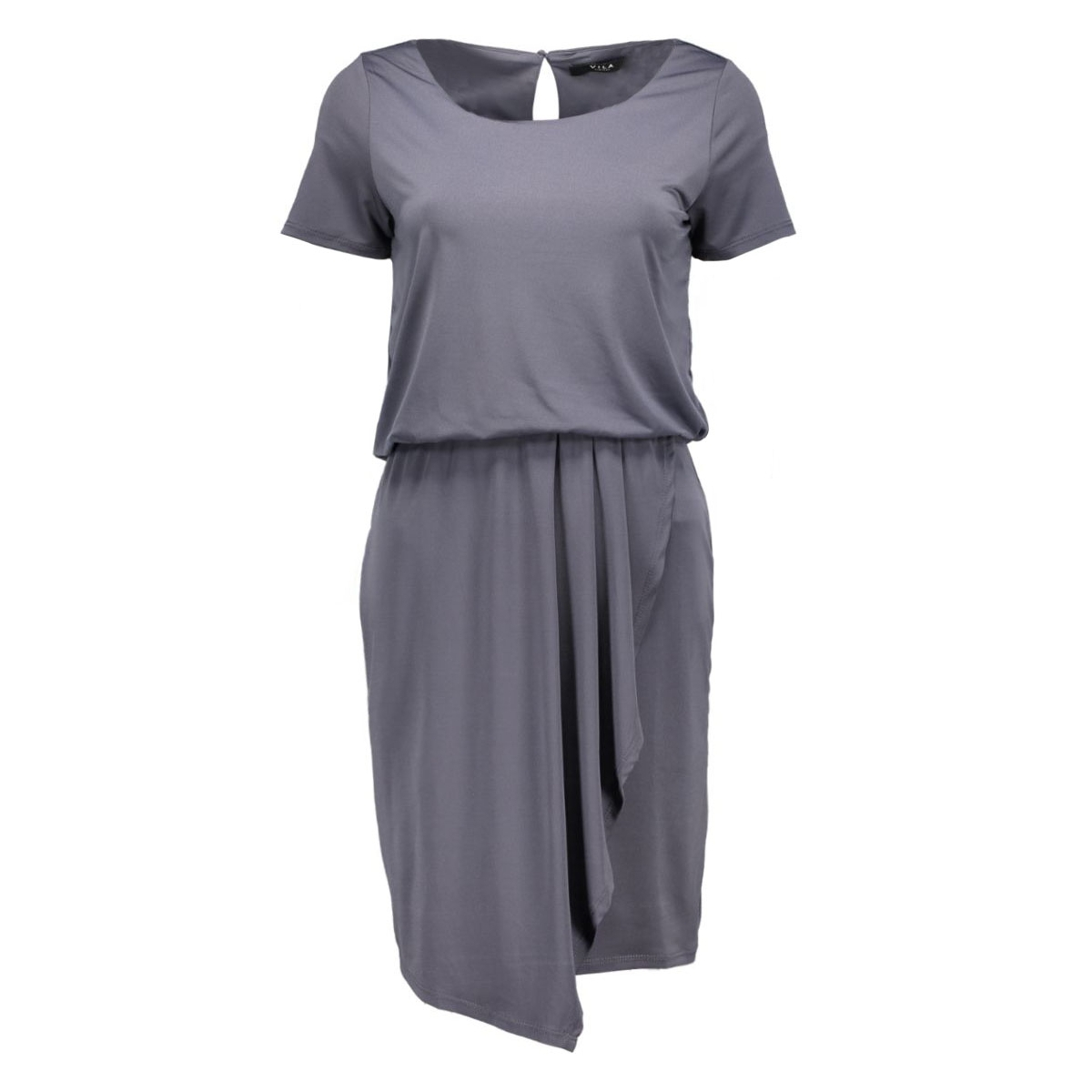 vipalli s/s dress 14036929 vila jurk ebony