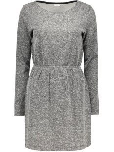 JDYTELLER L/S DRESS SWT 15117189 Dark Grey Melange