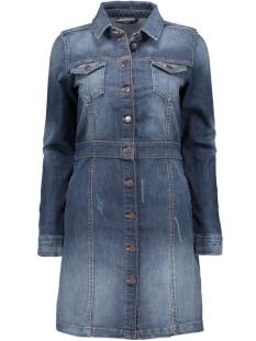 onlLORI BUTTON DNM DRESS AKM213615122867 Medium Blue Denim