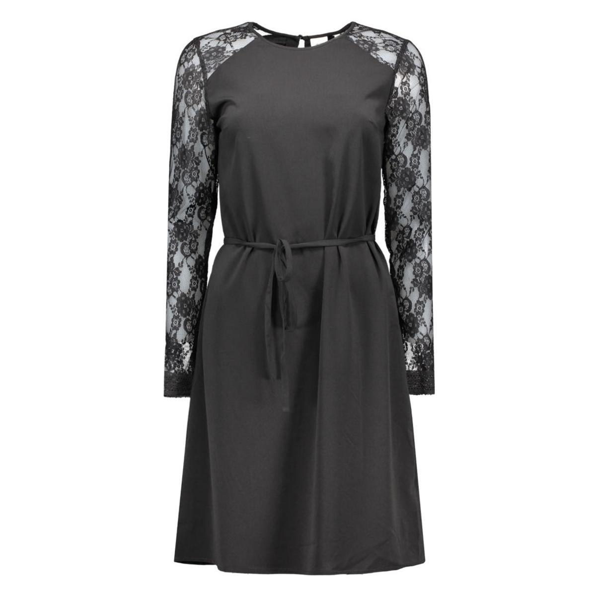 objcam l/s dress .i object jurk black