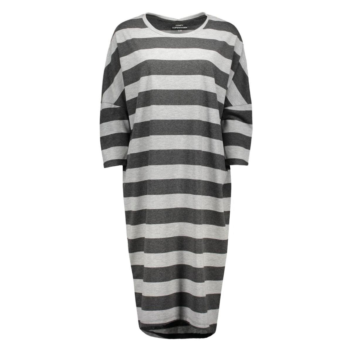 cy10600 comfy copenhagen jurk big stripe