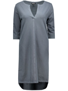 VNECK DRESS PETROL Petrol