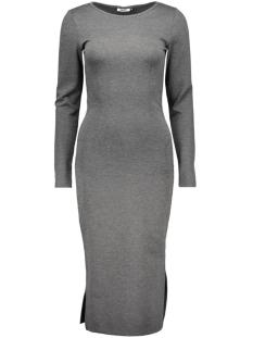 onlallikat l/s calf dress jrs rep 15126116 only jurk dark grey melange