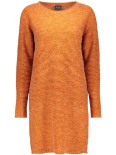Vila Jurk VIRIVA RIB DRESS-NOOS 14036027 Roasted Pecan