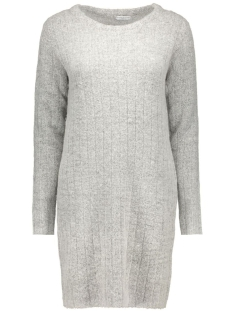 Jacqueline de Yong Jurk JDYRAVEN L/S DRESS KNT 15121489 light grey melange