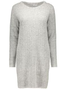 jdyraven l/s dress knt 15121489 jacqueline de yong jurk light grey melange