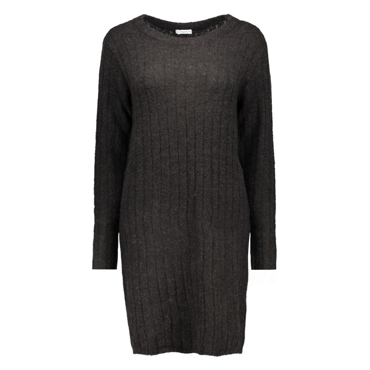 jdyraven l/s dress knt 15121489 jacqueline de yong jurk black