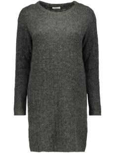 Jacqueline de Yong Jurk JDYRAVEN L/S DRESS KNT 15121489 dark grey melange