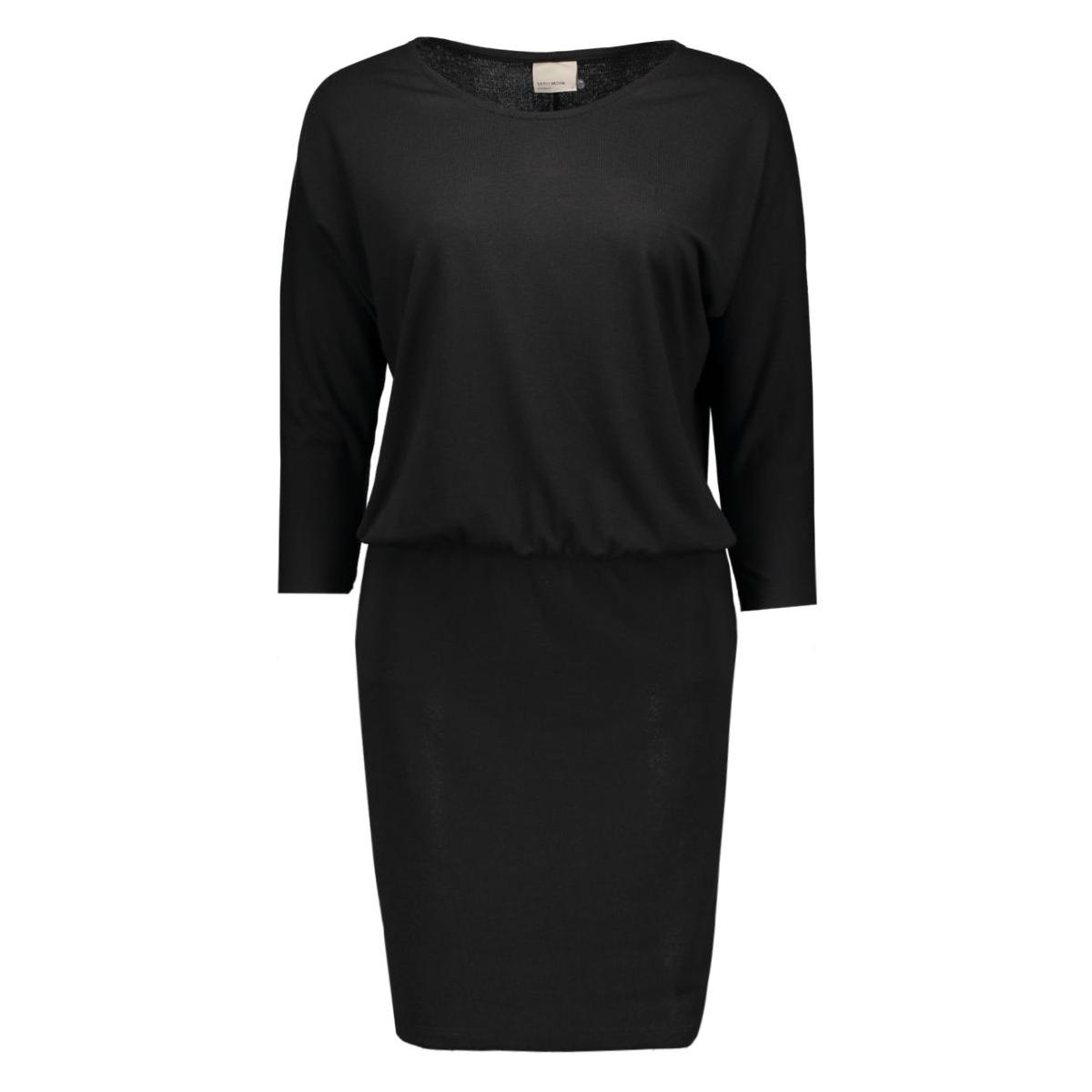 vmorpo 3/4 dress 10166334 vero moda jurk black