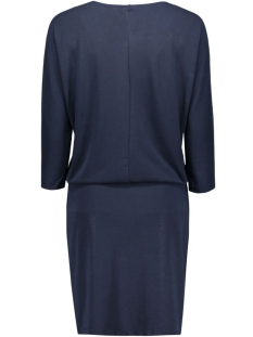 vmorpo 3/4 dress 10166334 vero moda jurk navy blazer