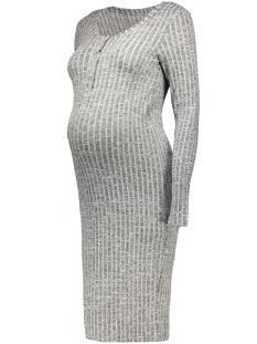 mlriban lia l/s jersey dress 20006721 mama-licious positie jurk black