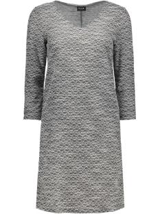 vilinde 3/4 sleeve dress 14037244 vila jurk ebony/black