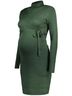 Mama-Licious Positie jurk MLJACINA L/S KNIT ROLLNECK DRESS 20004689 Sycamore