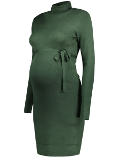 mljacina l/s knit rollneck dress 20004689 mama-licious positie jurk sycamore