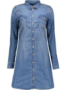 Only Jurk onlLONNI DENIM SHIRT DRESS QYT 15126844 Medium Blue Denim