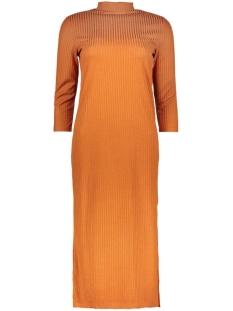 Vila Jurk VIJERSEY 3/4 SLEEVE DRESS 14037242 Roasted Pecan