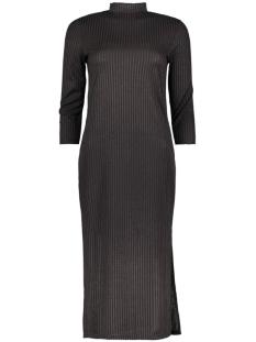 vijersey 3/4 sleeve dress 14037242 vila jurk black