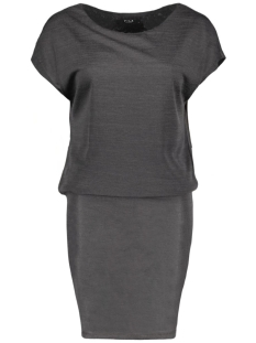 Vila Jurk VISISSA DRESS 14038615 Dark Grey Melange