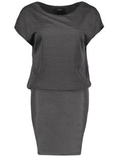 Vila Jurk VISISSA DRESS 14038615 Dark Grey Melange