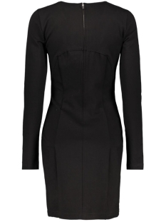 viclosing l/s dress/1 14038384 vila jurk black