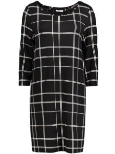 onlwindow 3/4 short dress jrs 15132811 only jurk black/window